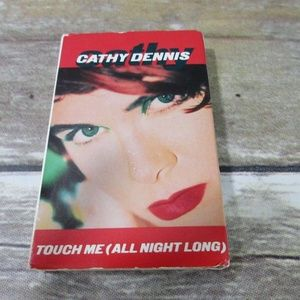 """cathy dennis touch me 7"""" & hot mix ps cassette"""